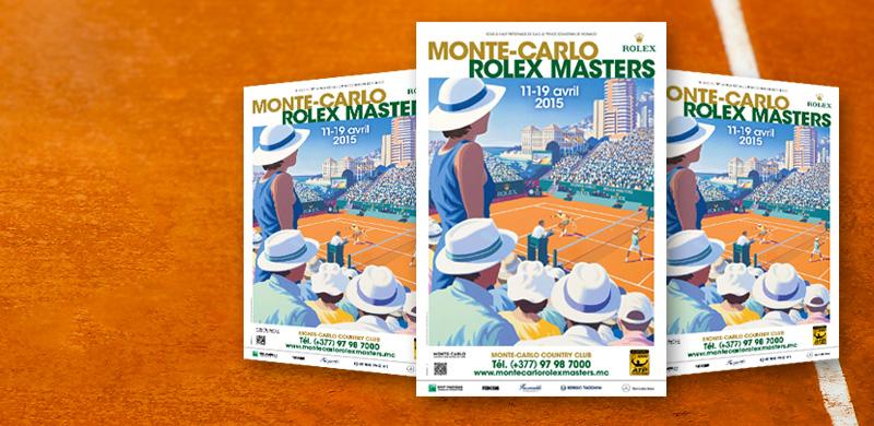 ATP Masters 1000: Monte Carlo Affiche-2015